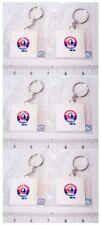 Set of 6 Schutt MLB Montreal Expos Logo Base Key Chains Keychains