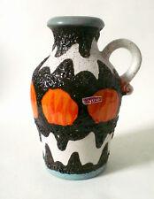 70s fat lava ceramic Scheurich Keramik Vase H 26 cm german céramique annees 70