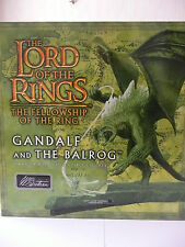 BRITAINS 40258 - GANDALF AND THE BALROG - LORD OF THE RINGS HAND PAINTED DIORAMA