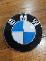 OEM Genuine BMW 74mm trunk emblem 51148219237