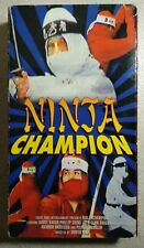 Ninja Champion - VHS - Martial Arts/Action - Front Row Entertainment