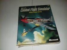 Microsoft COMBAT FLIGHT SIMULATOR WWII Europe Series PC Game  017-405