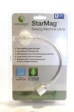 LED - Nähmaschinen Licht Bendabel Bright  Light STAR MAG mit AC Adapter Netzteil