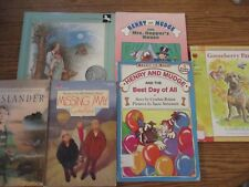 Cynthia Rylant 8-book set (Gooseberry/May/Henry+5)