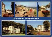 DDR Postkarte Bad Doberan OT Heiligendamm Mehrbild-AK ua. Haus Weimar u. Dresden
