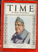 Time Magazine February 14 1938 Spain's Leftist General Pozas *Time