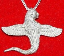 LOOK Egypt Angel of Death Pendant Charm Gothic Jewelry