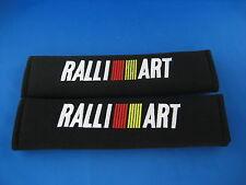 2 x Seat Belt Cover Shoulder Pad Cushion f/ Ralliart Mitsubishi Pajero Evolution
