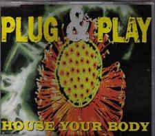 Plug&Play- House Your Body cd maxi single Italo Dance