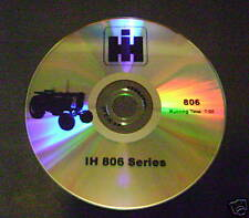 Sales DVD for Farmall 806 Tractor International IH 1960 NEW