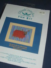 Isle of Skye Crafts Tapestry Fun Kit - Hairy Highland Cow Funkit 1