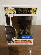 Funko POP Star Wars KNIGHT OF REN ARM CANNON Walmart Exclusive #334 DOUBLE BOX