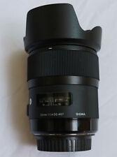 Sigma DG 35mm f/1.4 HSM Art Lens for Canon 54493963