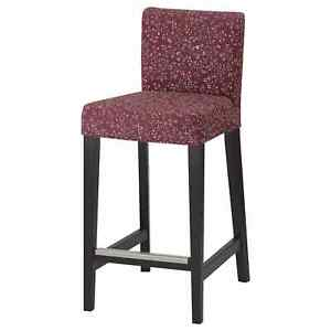 Ikea Henriksdal Bar Stool REPLACEMENT COVER ONLY Ryrane Floral 704.711.53