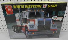 WHITE WESTERN STAR TRACTOR TRAILER TRUCK FS SEALED AMT MODEL KIT