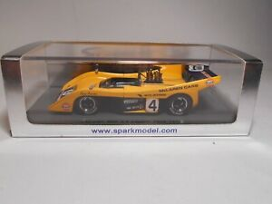 Spark (S1116) - 1/43 - McLaren - M20 - Laguna Seca - 1972 - Gulf - Car #4 - MB