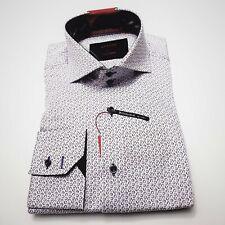DRESS SHIRT BY AXXESS. 100% COTTON. LONG SLEEVES 36/37 2 BOTTOM SPREAD COLLAR