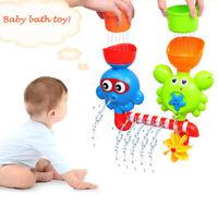 Bad Spielzeug Dusche Spray Wasser Krabbe Krake Badewanne für Kinder Spielzeug