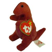 TY McDonald's Teenie Beanie - REX the Dinosaur (2000) (4.5 inch) - MWMT's