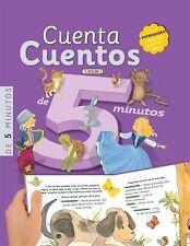 Cuenta cuentos de 5 minutos (Libros de Lectura) (Spanish Edition)-ExLibrary