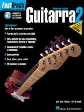 FastTrack Guitar Method Spanish Book 2 - Instruction Book and Audio 000695725