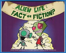 Invader Zim & Gir Alien Life: Fact or Fiction Sticker Jhonen Vasquez