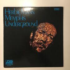 1453 LP - HERBIE MANN – Memphis Underground - 1969 Atlantic – SD 1522 OTTIMO