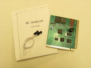 PC Computer BIOS Motherboard Tester Analyzer POST Code PCI ISA Diagnostic Card
