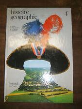Histoire Géographie - 4e - Nathan - 1979 - Manuel scolaire - Berstein Milza