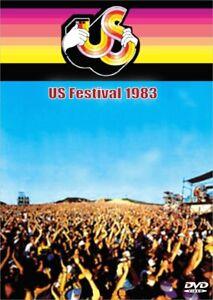 1983 US Festival 3 DVD's Van Halen Ozzy Clash Bowie Motley Crue Scorpions U2
