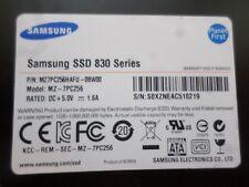 """Samsung 830 series 256GB SSD 2.5"""" SATA III 6.0Gb/s MZ-7PC256, MZ7PC256HFU-0BW00"""