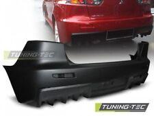 Paraurti posteriore sportivo Tuning MITSUBISHI LANCER 08 >11 look EVO X 10 STYLE