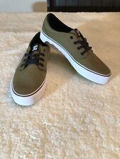 *NEW* DC Men's Trase TX Unisex Skate Shoe (Olive Green) ADYS300126 (Size Mens 8)