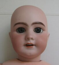 2156* poupée ancienne tête porcelaine corps articulé boule jumeau , sfbj , bru ?