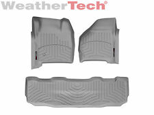 WeatherTech DigitalFit FloorLiner - 1999-2007 Ford Super Duty SuperCrew - Grey