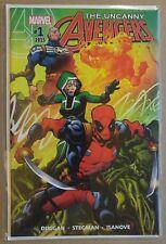 **Uncanny Avengers #1** X-MEN! MOVIE!98! RYAN STEGMAN! NEW MUTANTS! DEADPOOL! NM