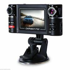 "F30 1080P HD Car DVR DashCam Rearview Video Recorder Night Vision 2.7"" Dual-lens"