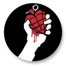 Magnet Aimant Frigo Ø38mm Green Day Punk Rock Billie Joe Armstrong Mike Dirnt