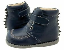 NIB LIVIE & LUCA Shoes Boots Rex Navy Blue 4 5 7 8