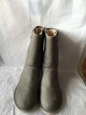 UGG Malindi Womens Waterproof Leather Boots,Pencil Lead size 9