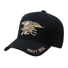 Black United States USA US Navy Seals Seal Team Baseball Cap Caps Hat Hats