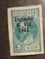 GERMAN WORLD WAR II OCCUPATION ISSUES Estonia - Pernau