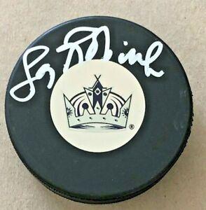 LARRY ROBINSON SIGNED LOS ANGELES KINGS HOCKEY PUCK W/COA