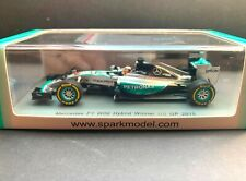 Spark - Lewis Hamilton - Mercedes - W06 -Winner US GP -2015 -1:43 -Worldchampion