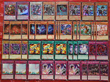 Yugioh Wyrm Deck 43 Cards Yang Zing *Yazi* Jiaotu *Taotie* Starving Venom