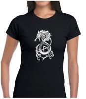 Raven silhouette Sweat à capuche Valknutr Crow mythe Adultes /& Enfants Sizers Norse viking