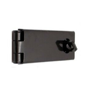 NEW! Rotating Hasp Lock Black 64mm Perfect for Indoor Security SIMPLE Easy NEW!
