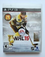 NHL 15 Ps3 Tested Sony Playstation 3 Hockey (Case, Disc & Manual)
