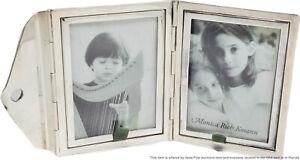 Sterling Silver Monica Rich Kosann Folding Letter Envelope Picture Frame