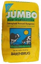 Jumbo Tetraploid Annual Rye grass Seeds - 50 Lbs.